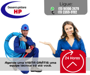 desentupidora na Granja Viana 24 Horas