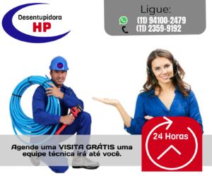 desentupidora na Vila Nova Conceição 24 Horas