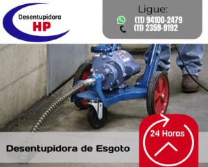 Desentupidora de Esgoto na Vila Leopoldina