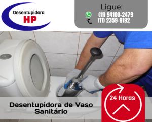 Desbloqueio de Vaso Sanitário 24 horas