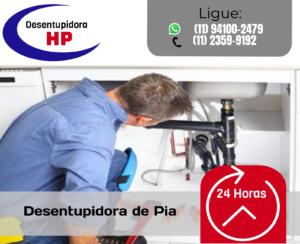 Desentupidora de Pia Grande São Paulo