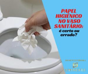 Papel Higiênico no Vaso Sanitário: É Certo ou Errado?